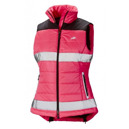 Harry Hall Hi-Vis Reflective ladies Bodywarmer
