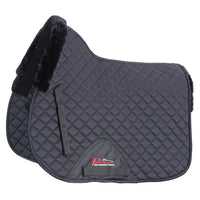 Shires Performance SupaFleece Saddlecloth black