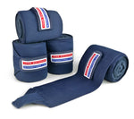 John Whitaker Training Bandages Navy