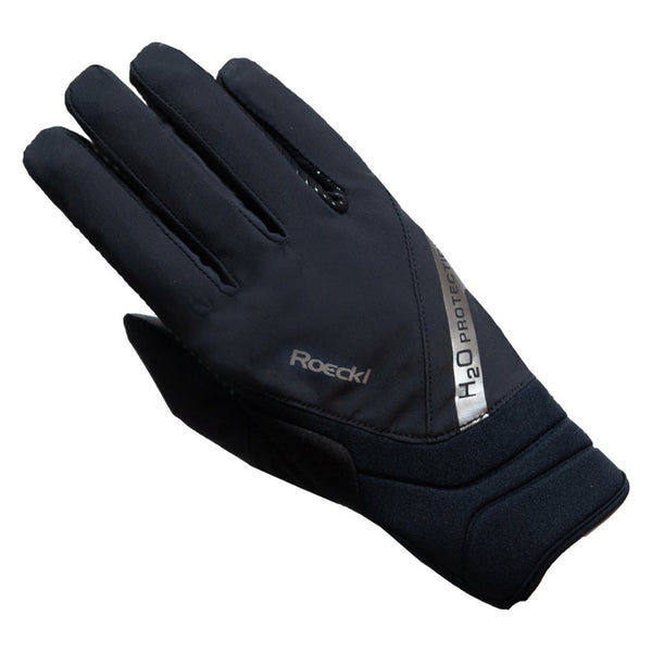 Roeckl Warendorf Waterproof Glove Black/Silver