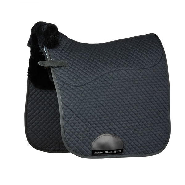 WB Merino High Wither Dressage Saddle Pad Black