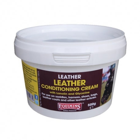 Equimins Leather conditioning cream   500g