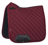 Diamante Dressage Pad Burgundy