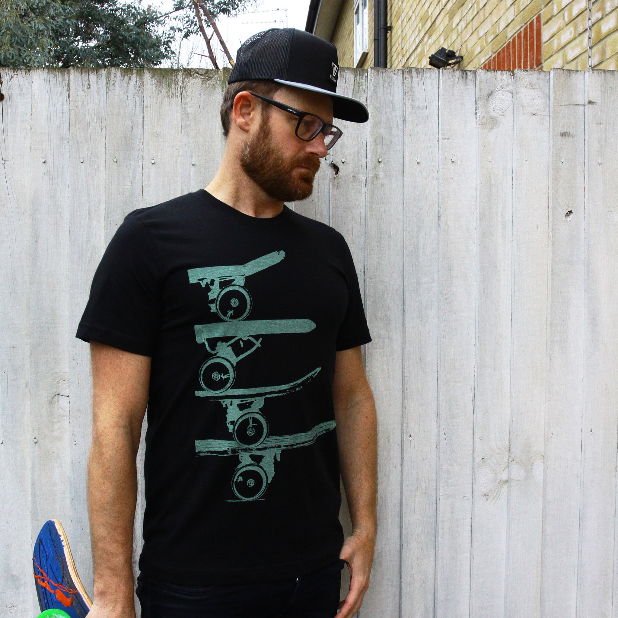 PIPE ROLLIN Skate T Shirt by SAXTEES