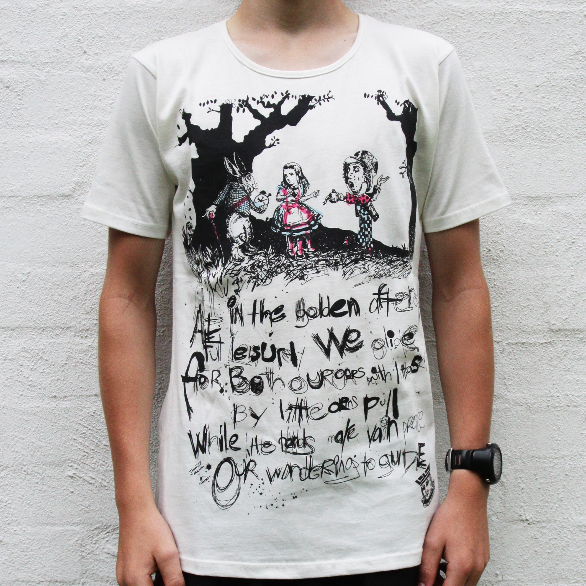 ALICE IN WONDERLAND T SHIRT