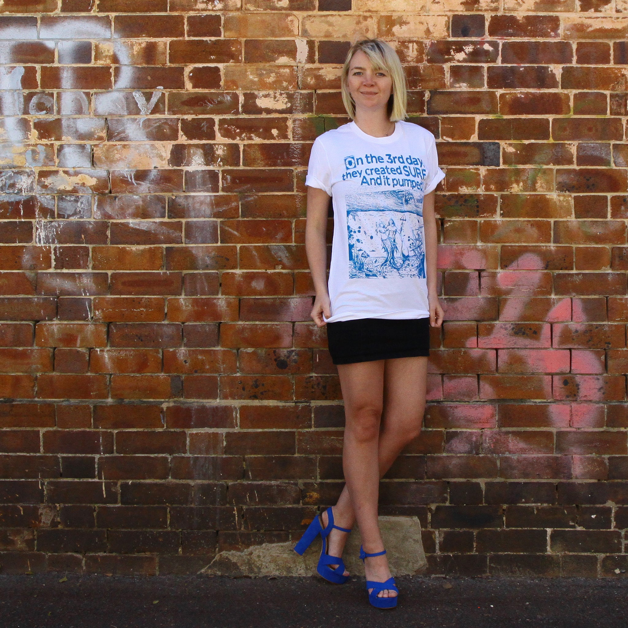 KING NEPTUNE SURF T Shirt SAXTEES