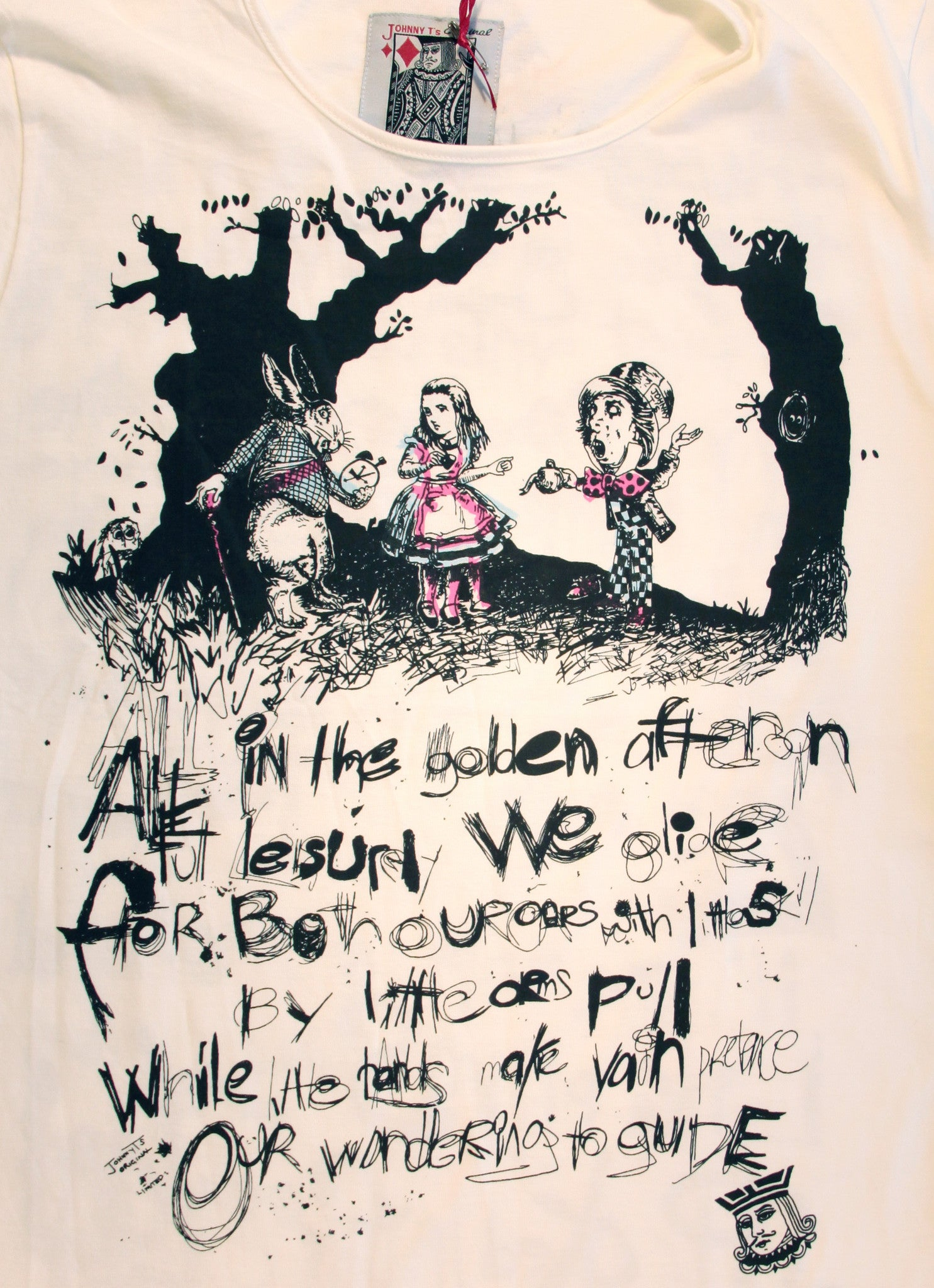 SAX TEES - Alice in Wonderland T Shirt