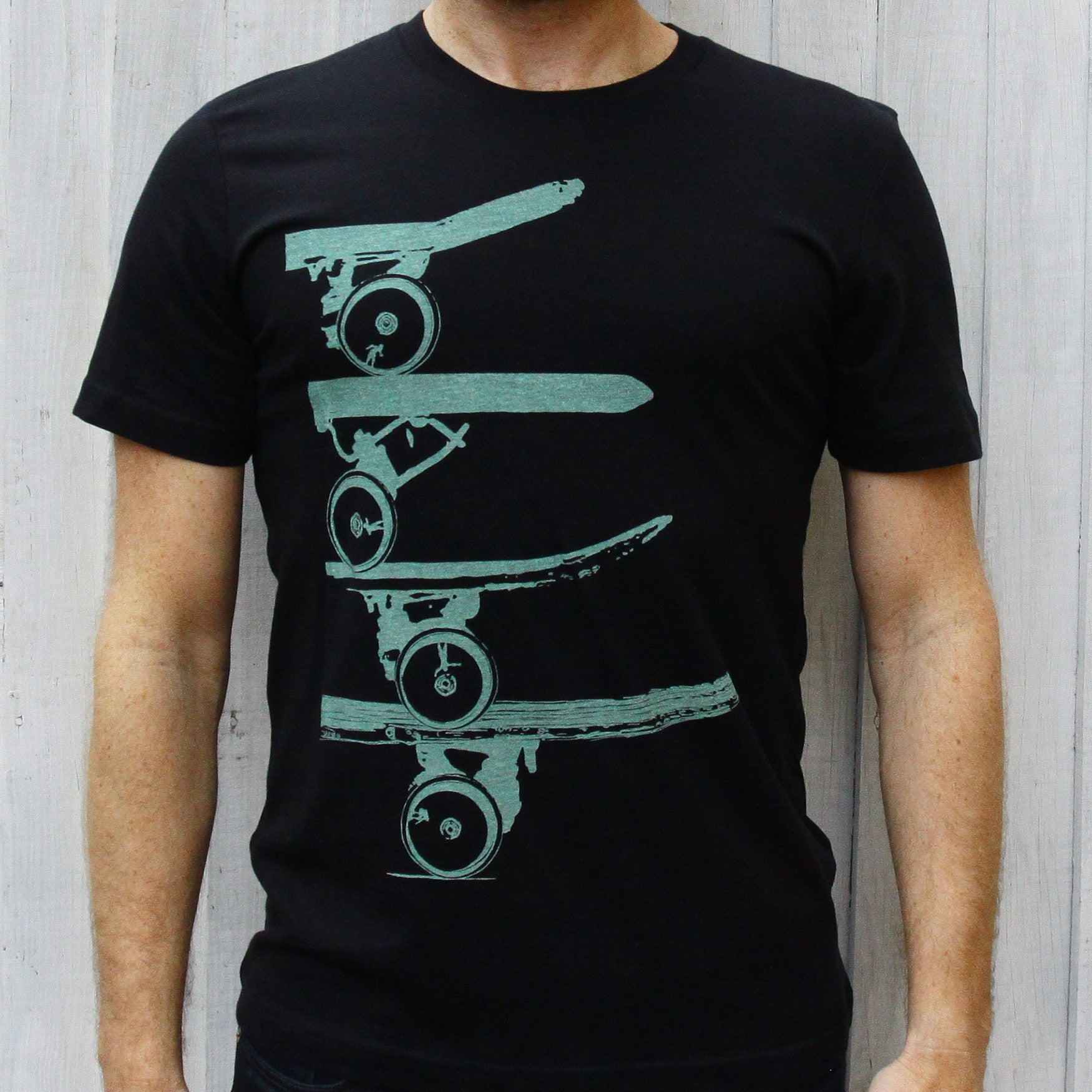SAX TEES - PIPE ROLLIN Skate T Shirt by SAXTEES