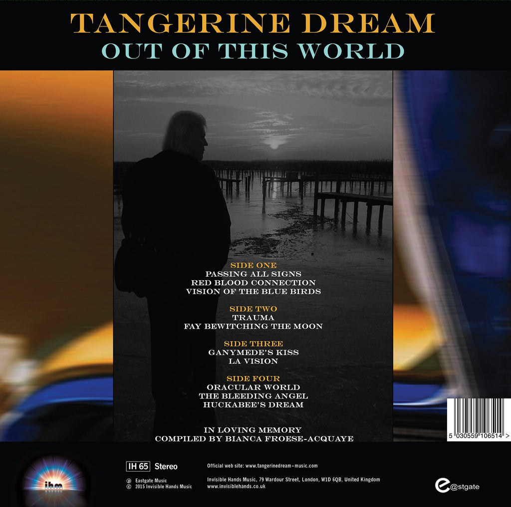 TANGERINE DREAM Out Of This World – Invisible Hands Music for Underwater Sunlight Tangerine Dream  183qdu