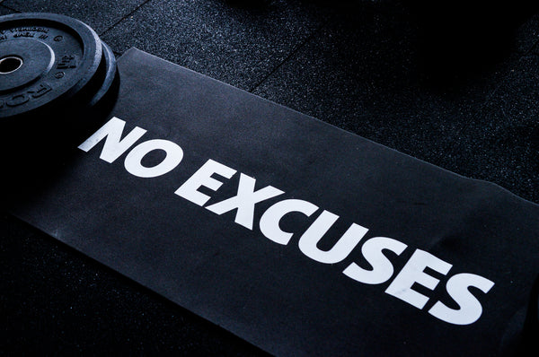 Tapis No excuses