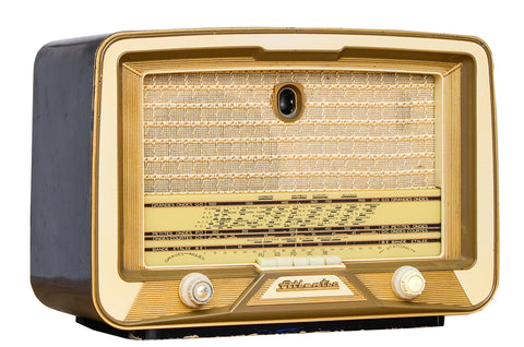 "Radio Bluetooth Vintage ""ATLANTIC A62"" - 1955"
