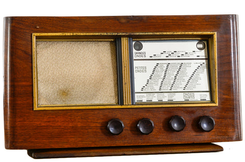 "Radio Bluetooth Vintage ""Bellevue"" - 1937"