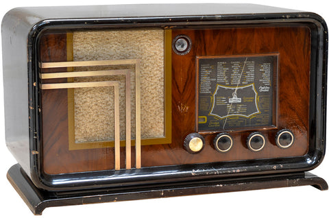 "Radio Bluetooth Vintage ""Familial-Radio"" - 1939"