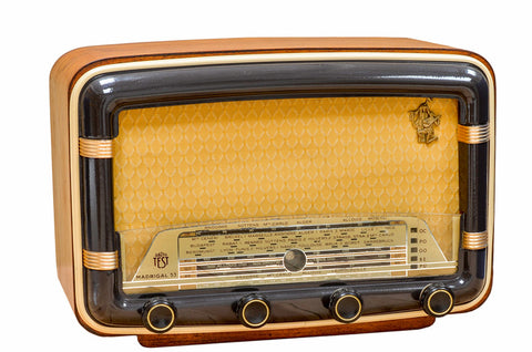 "Radio Bluetooth Vintage ""TEST Madrigal"" - 1953"