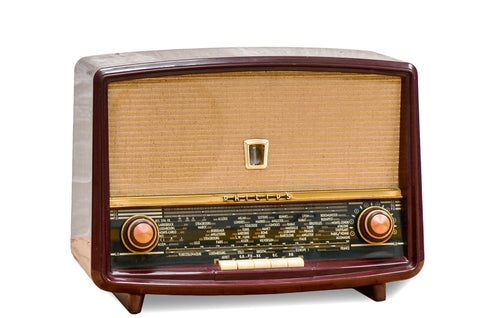 "Radio Bluetooth Vintage ""Philips B4F70"" rouge - 1958"