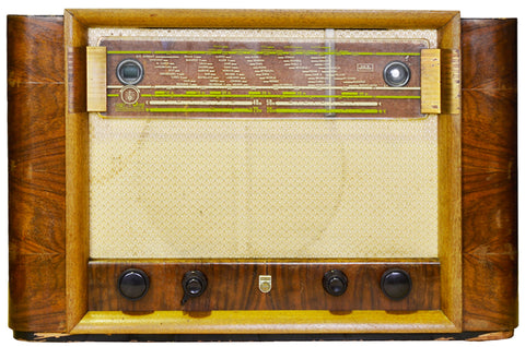 Radio ancienne Philips BX600 datant de 1942 modernisée en radio Bluetooth Vintage par Charlestine