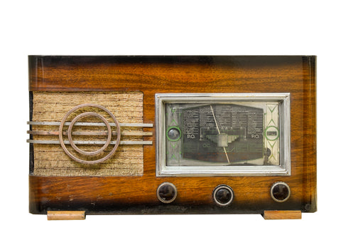 Radio Bluetooth Vintage de 1938