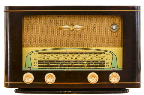 "Radio Bluetooth Vintage ""RELCO"" - 1954"