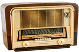 "Radio Bluetooth Vintage ""Transmonde"" - 1950"
