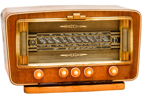 Radio Bluetooth Vintage de 1950