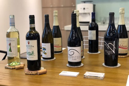 Brown Bag Wines event at Some Random Workspace Launch