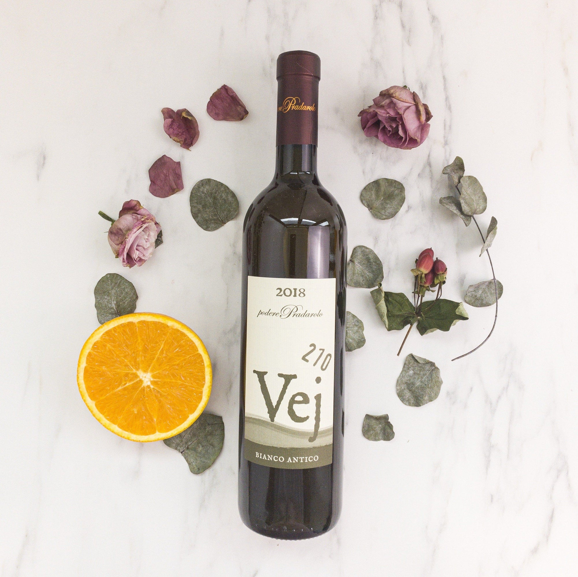Natural Orange Wine from Varano Italy that is elegantly complex and glorious
