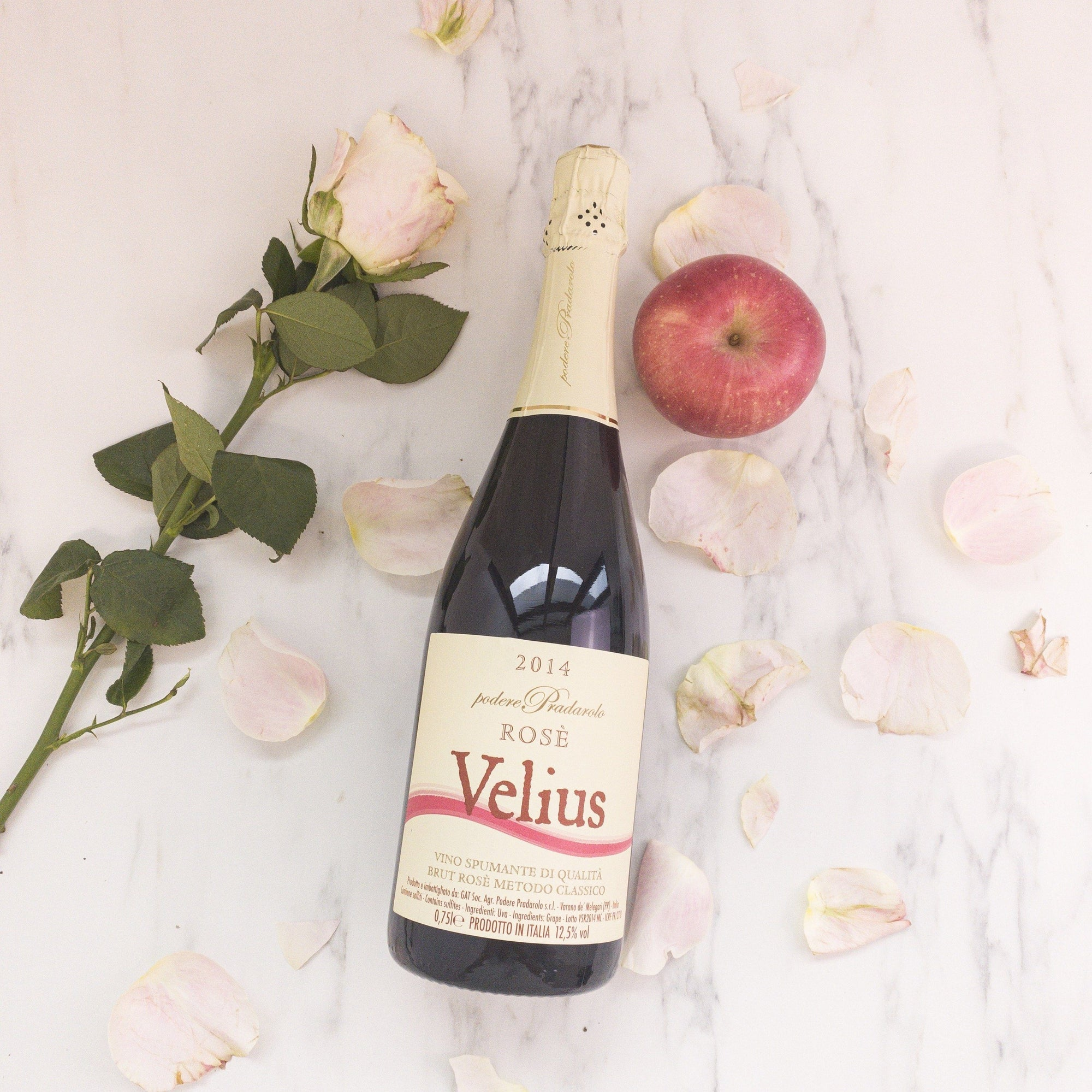 Velius Rose, a natural rose from Italy that is a juicy, fresh and a guaranteed favourite