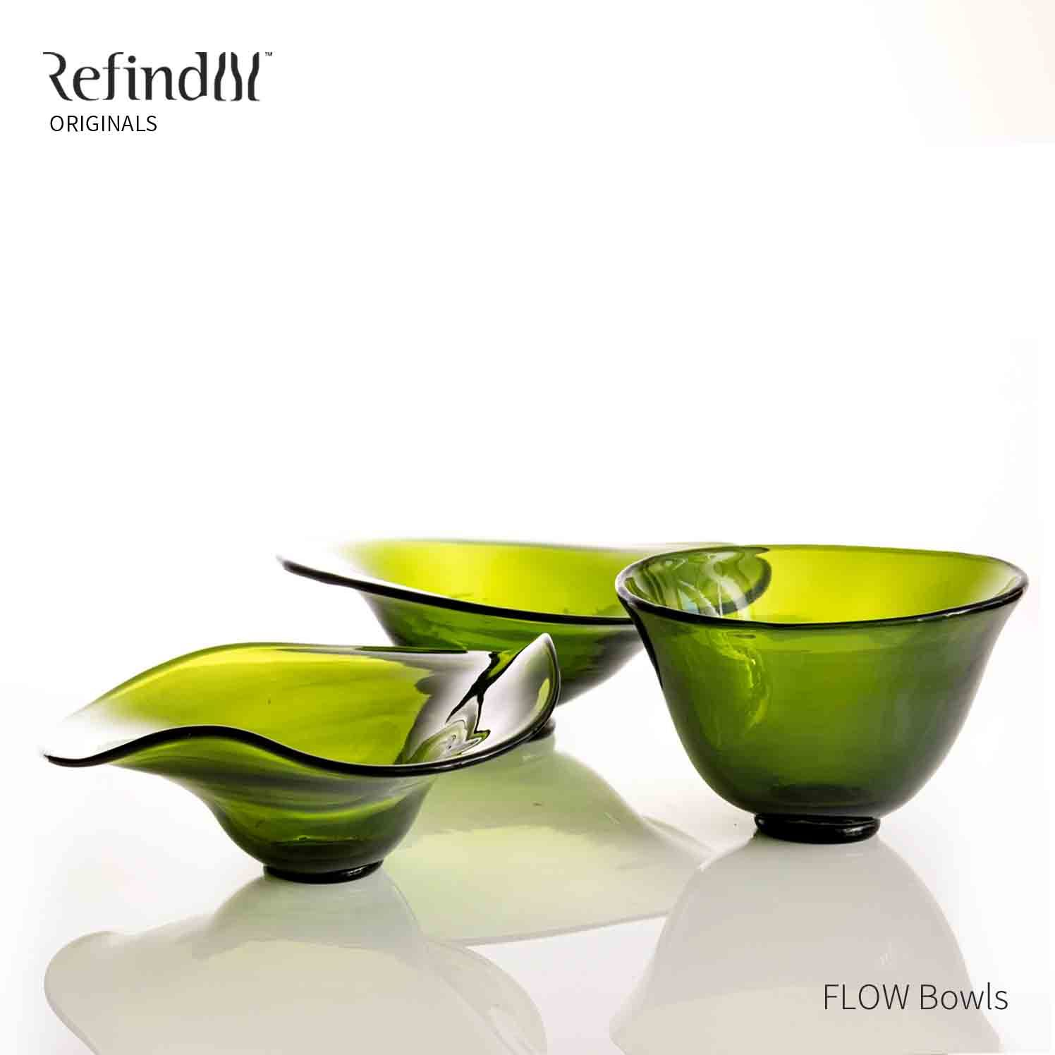 Refind Glass | FLOW Bowls