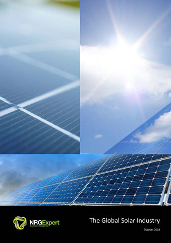 The Global Solar PV Industry