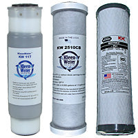 2.5 x 10 Taste Odor Chlorine Water Filter Cartridges