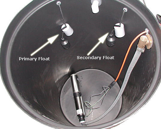 Model 130AS Primary & Secondary Floats