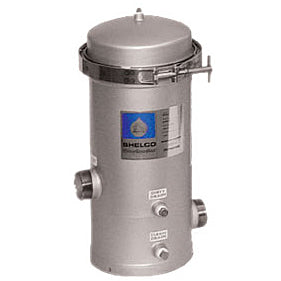 Shelco Stainless Steel Water / Fluid Filter Housing - 5 Cartridges - Kleenwater