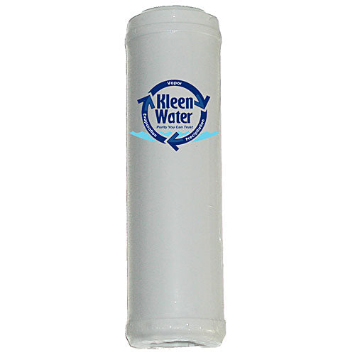 2.5 x 10 inch Granular Activated Carbon Water Filter Cartridge - Kleenwater