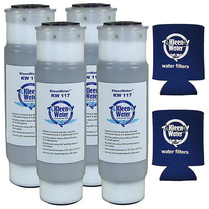 Four AP117 Aqua-Pure Compatible Water Filters