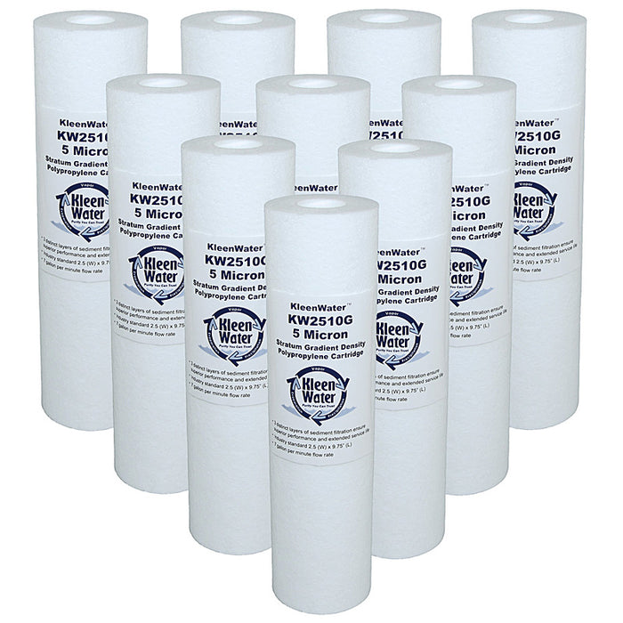 Ten Watts FPMB20-978 Flo-Pro Compatible Water Filter Cartridges