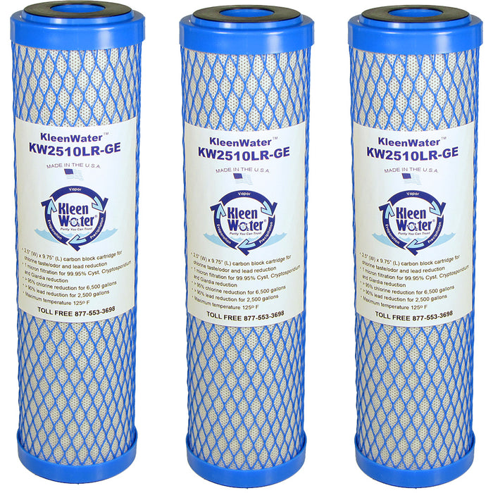 OmniFiilter CB1 and CB3 Compatible Carbon Block Water Filters