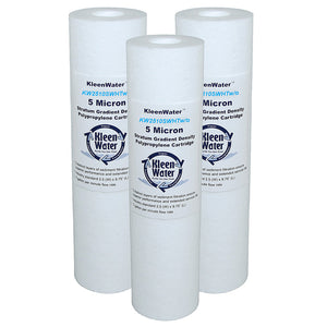 Hot Water Filter, High Temperature Water Filter Cartridge, Set of 3