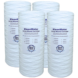 Four Culligan CW5-BBS Compatible String Wound Filters - 5 Micron
