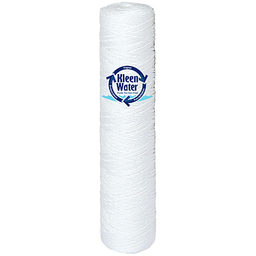 4.5 x 20  String Wound Sediment Water Filter Cartridge - Kleenwater