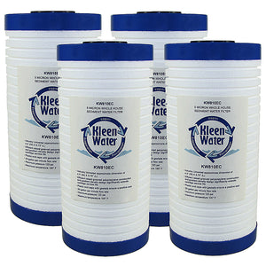 WHKF-GD25BB Whirlpool Compatible Filters, Set of 4 - Kleenwater