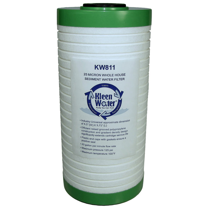 3M Aqua-Pure AP811 Water Sediment Filter Alternative 4.5 x 10 - Kleenwater