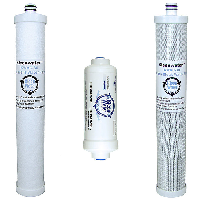 Culligan AC-30 Compatible Replacement 3 Cartridge Set - Kleenwater