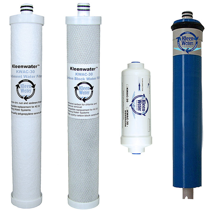 Culligan AC-30 Reverse Osmosis Replacement Cartridge and Membrane Set