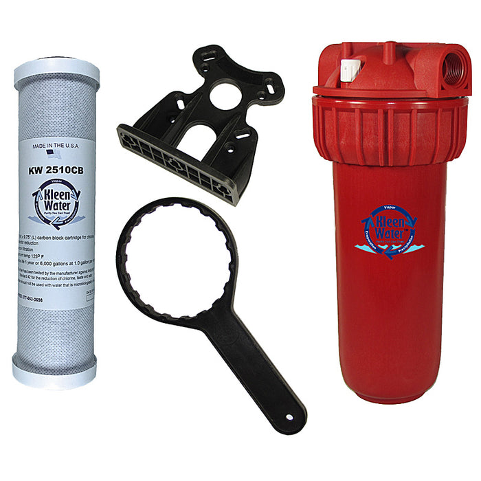 Shower Hot Water Filter - Prevents Hard Water, Scale and Corrosion