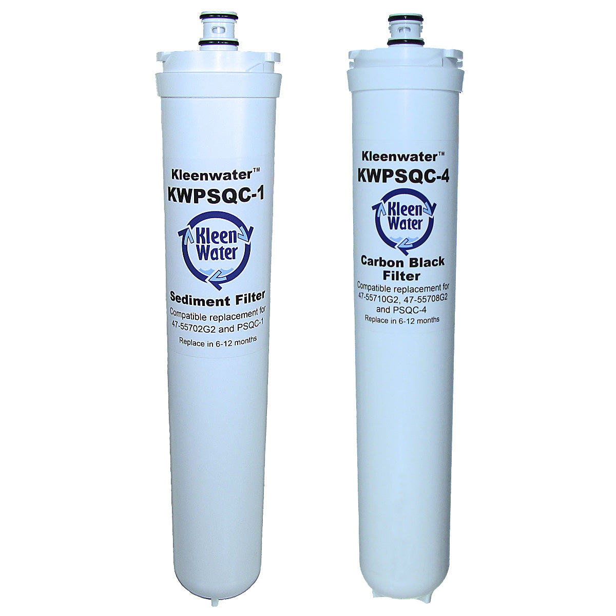 Water Factory FM-2 CTO & CM-2 CTO Set of Two Compatible Water Filters