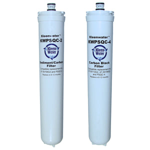 Water Factory SQC 3 Set of Two Compatible Water Filter Cartridges