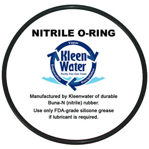 Whirlpool WHKF-DWHBB Compatible O-ring - Filter Replacement Oring - Kleenwater
