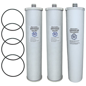 Everpure CC1E System Compatible Water Filter Cartridges, Set of 3