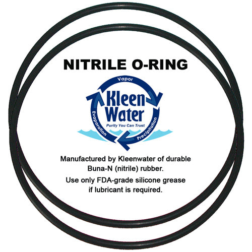 Water Filter Housing Replacement O Ring Set For Ametek WWHC-2 - Kleenwater