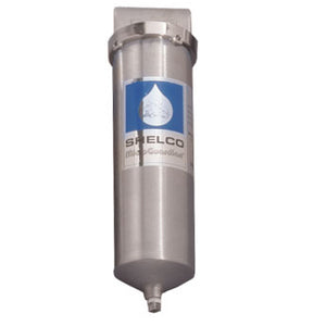 2.5  x 10 Shelco Stainless Steel Water / Fluid Filter Housing - RHS-78 - Kleenwater